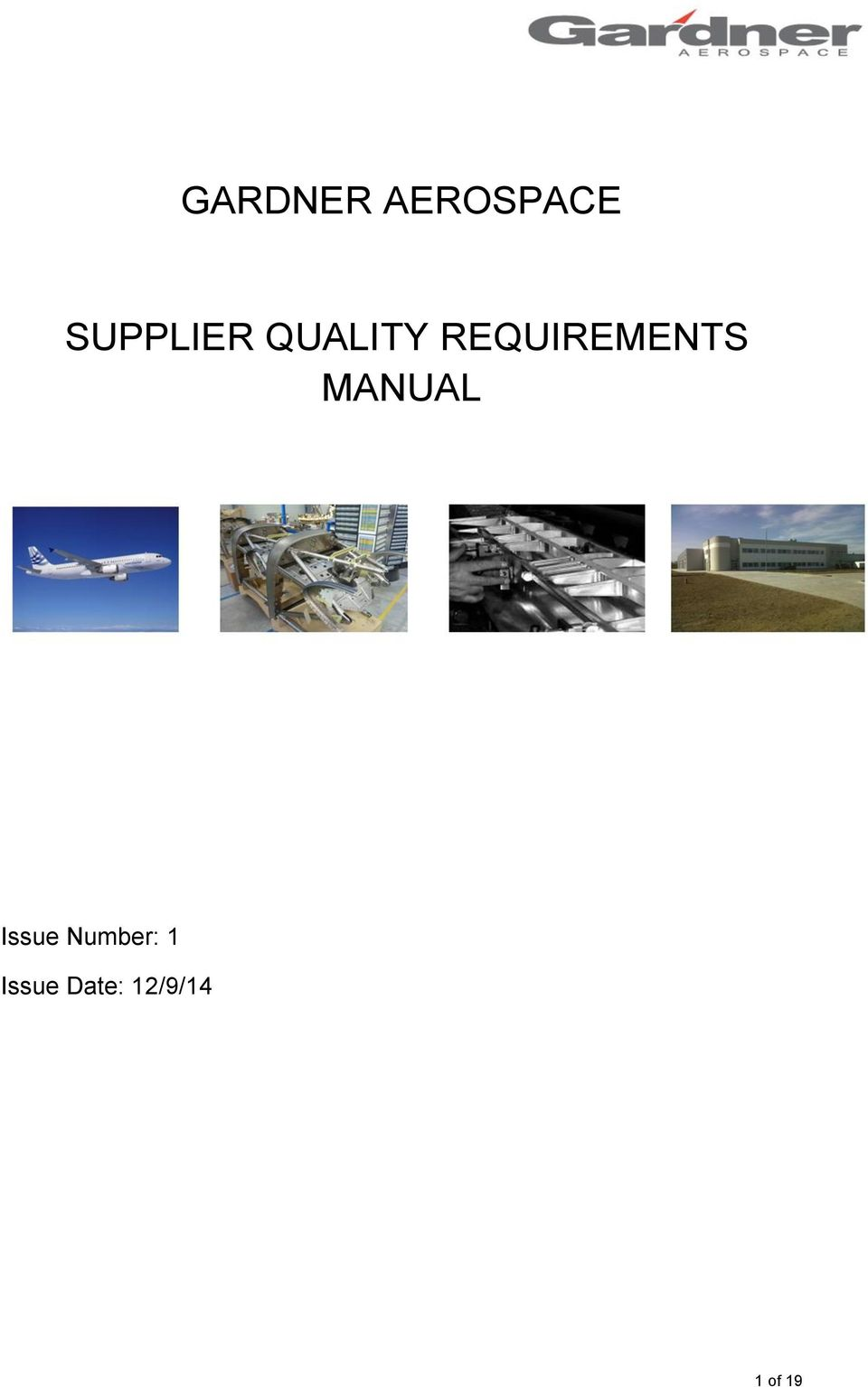REQUIREMENTS MANUAL