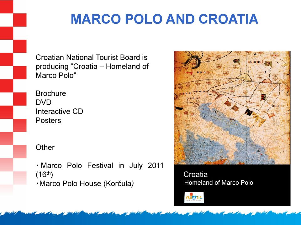 Interactive CD Posters Other Marco Polo Festival in July