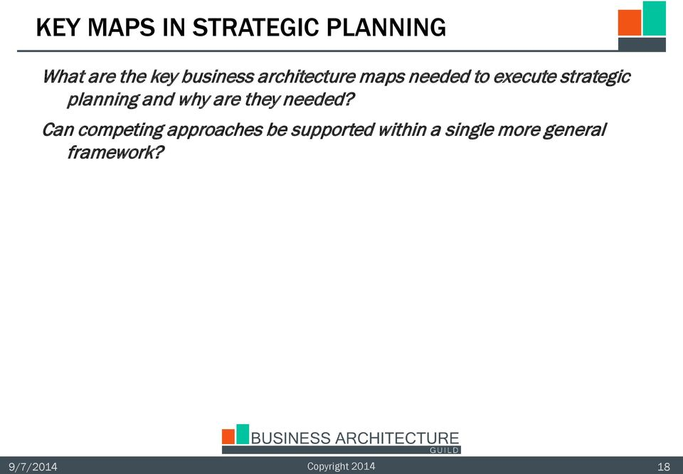 planning and why are they needed?