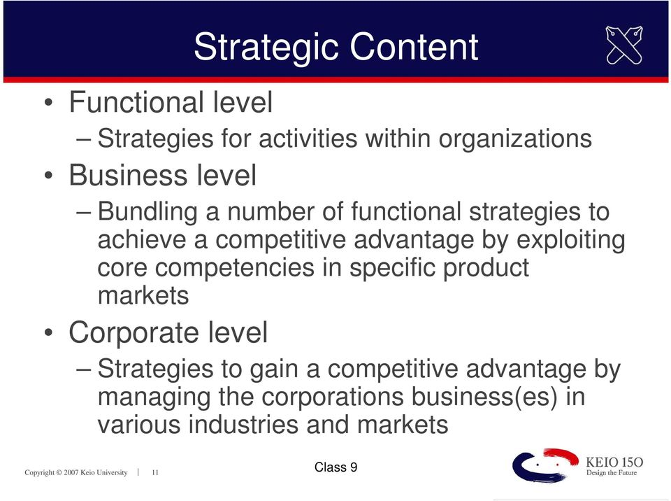 core competencies and functional strategies 31 core competencies explained  i competencies dealing with people  acts  to align own unit's goals with the strategic direction of the business  the  human resources function at basf corp serves as a great example.