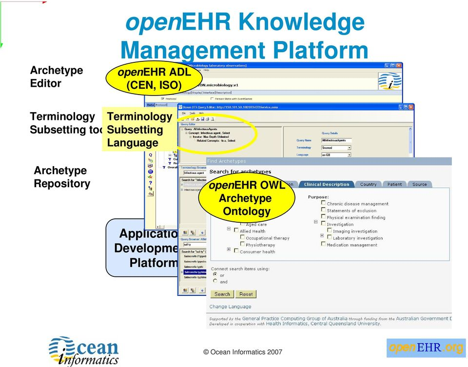 Integration Archetype Repository Health openehr Information OWL