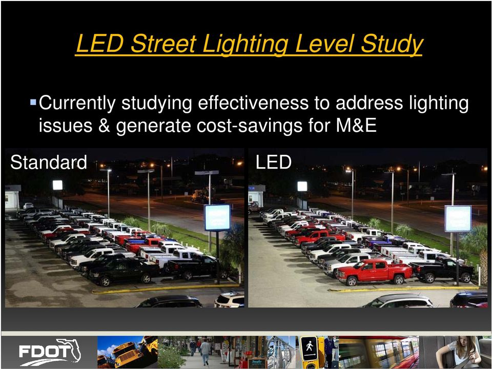 to address lighting issues &