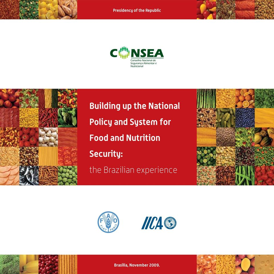 Food and Nutrition Security: the