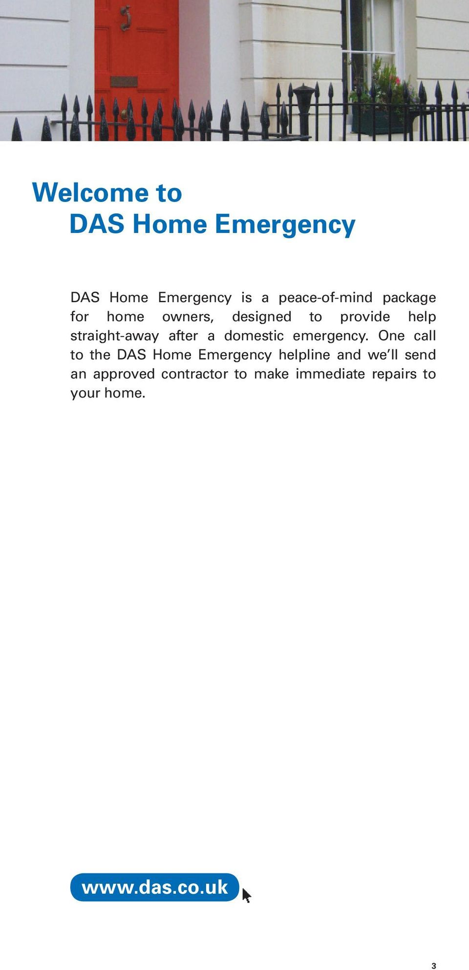 domestic emergency.