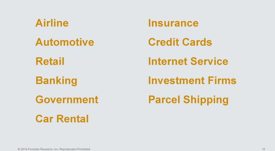 Service Investment Firms Parcel Shipping 2014