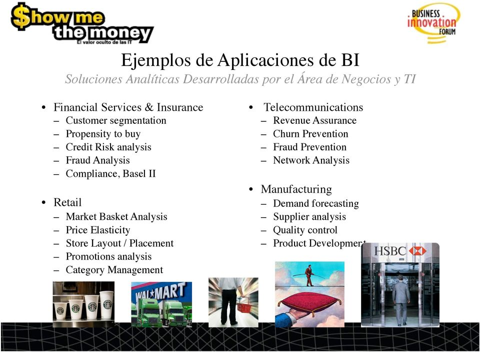 Price Elasticity Store Layout / Placement Promotions analysis Category Management Telecommunications Revenue Assurance Churn