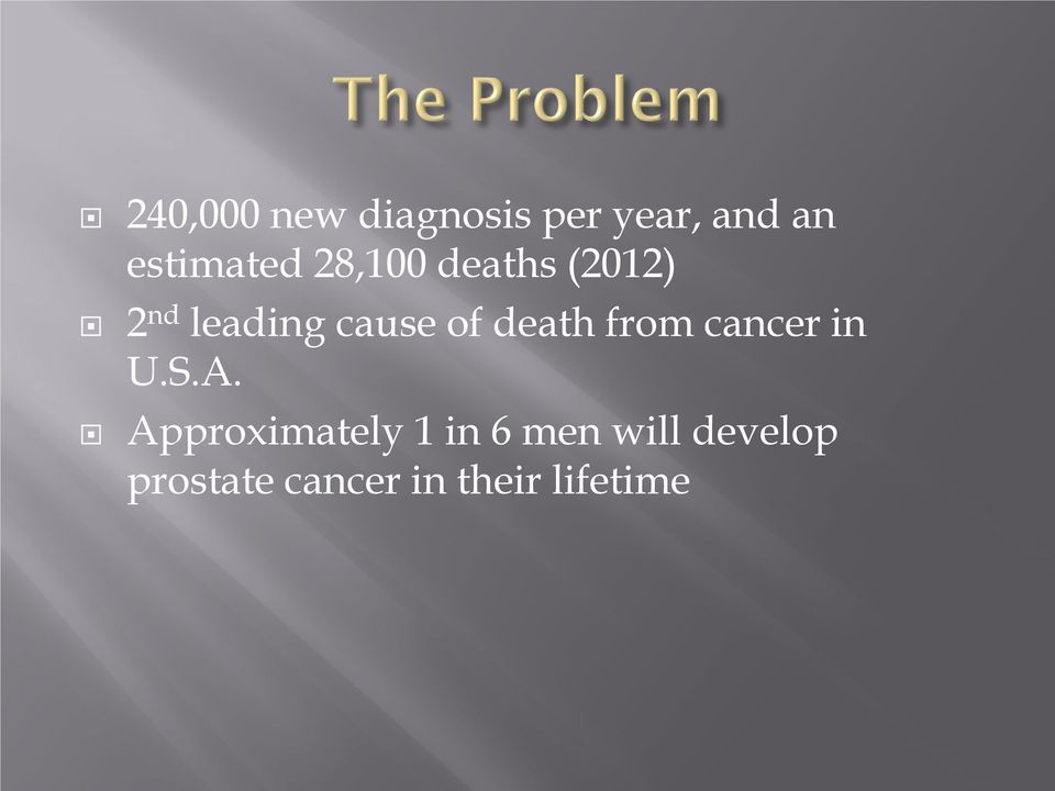 cause of death from cancer in U.S.A.