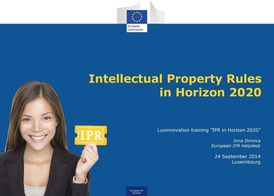 training in Horizon 2020 Inna