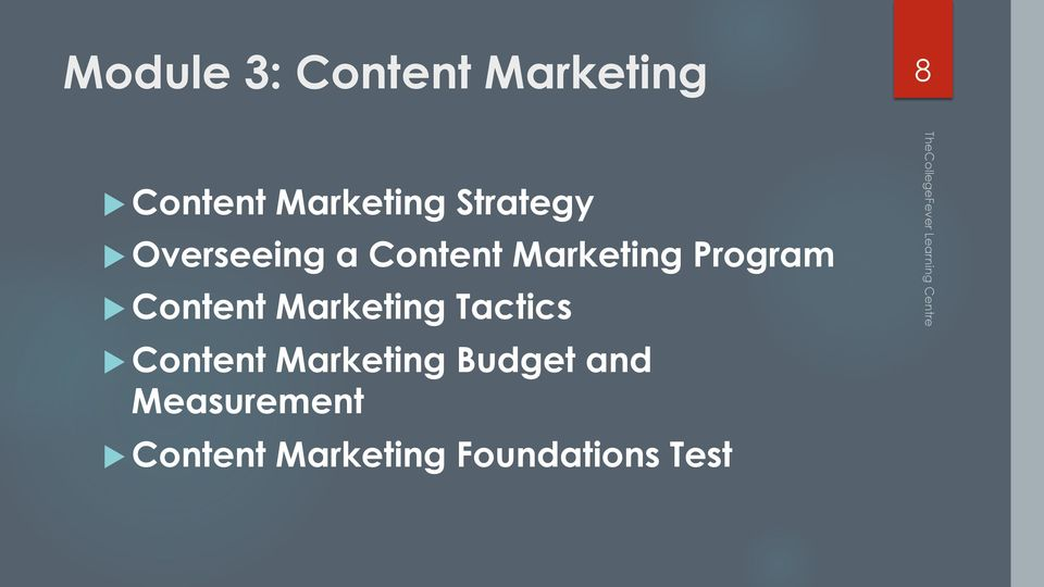 Content Marketing Tactics u Content Marketing