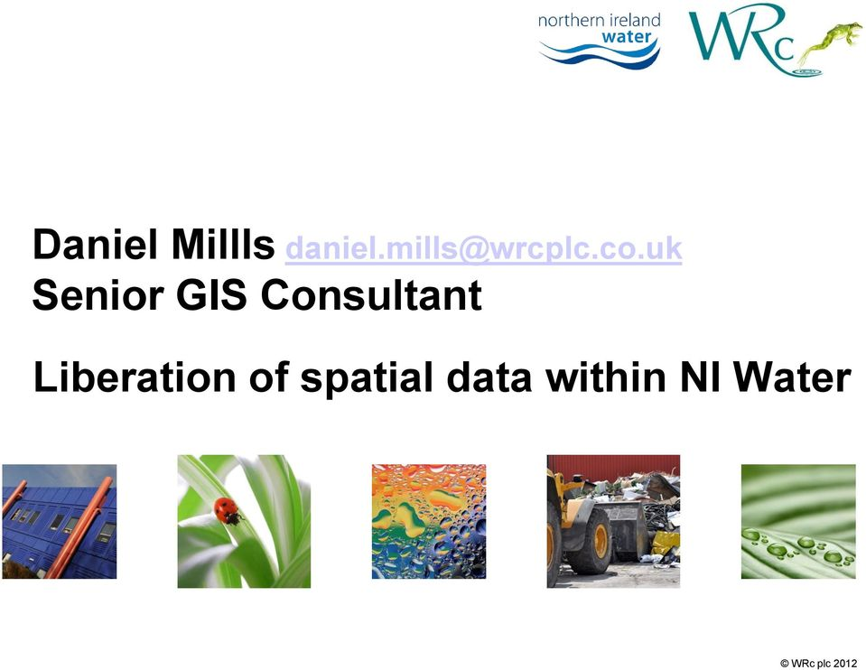uk Senior GIS Consultant