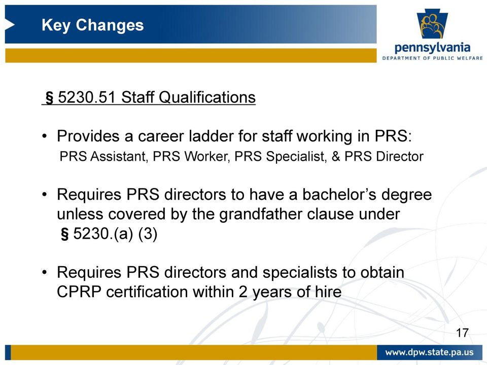 a bachelor s degree unless covered by the grandfather clause under 5230.