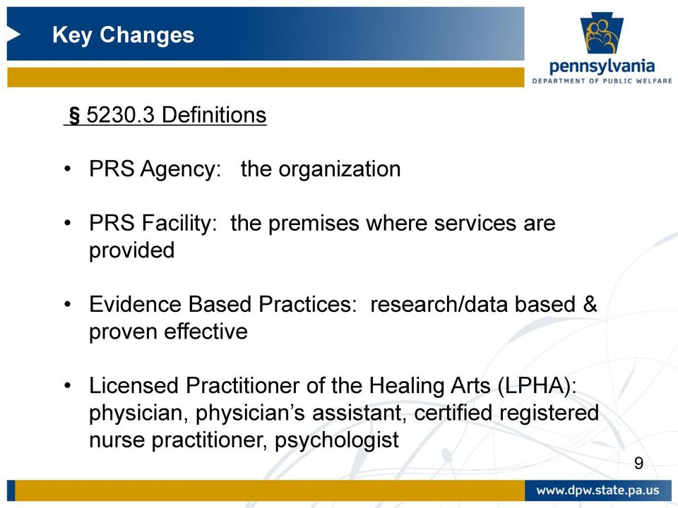 proven effective Licensed Practitioner of the Healing Arts (LPHA):