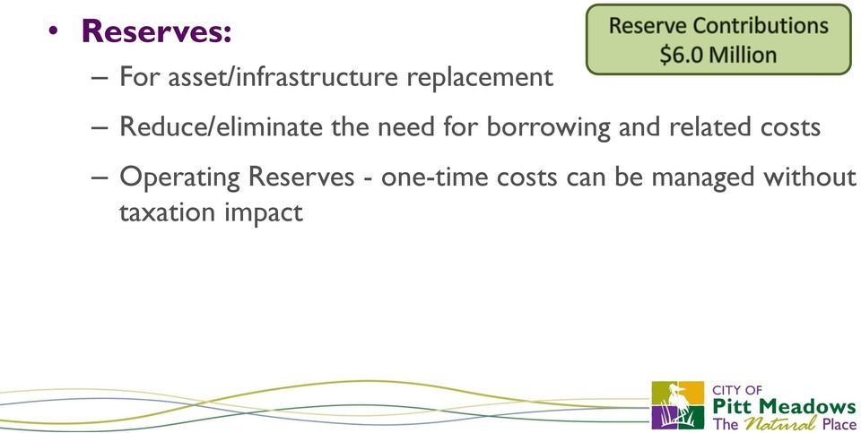 borrowing and related costs Operating