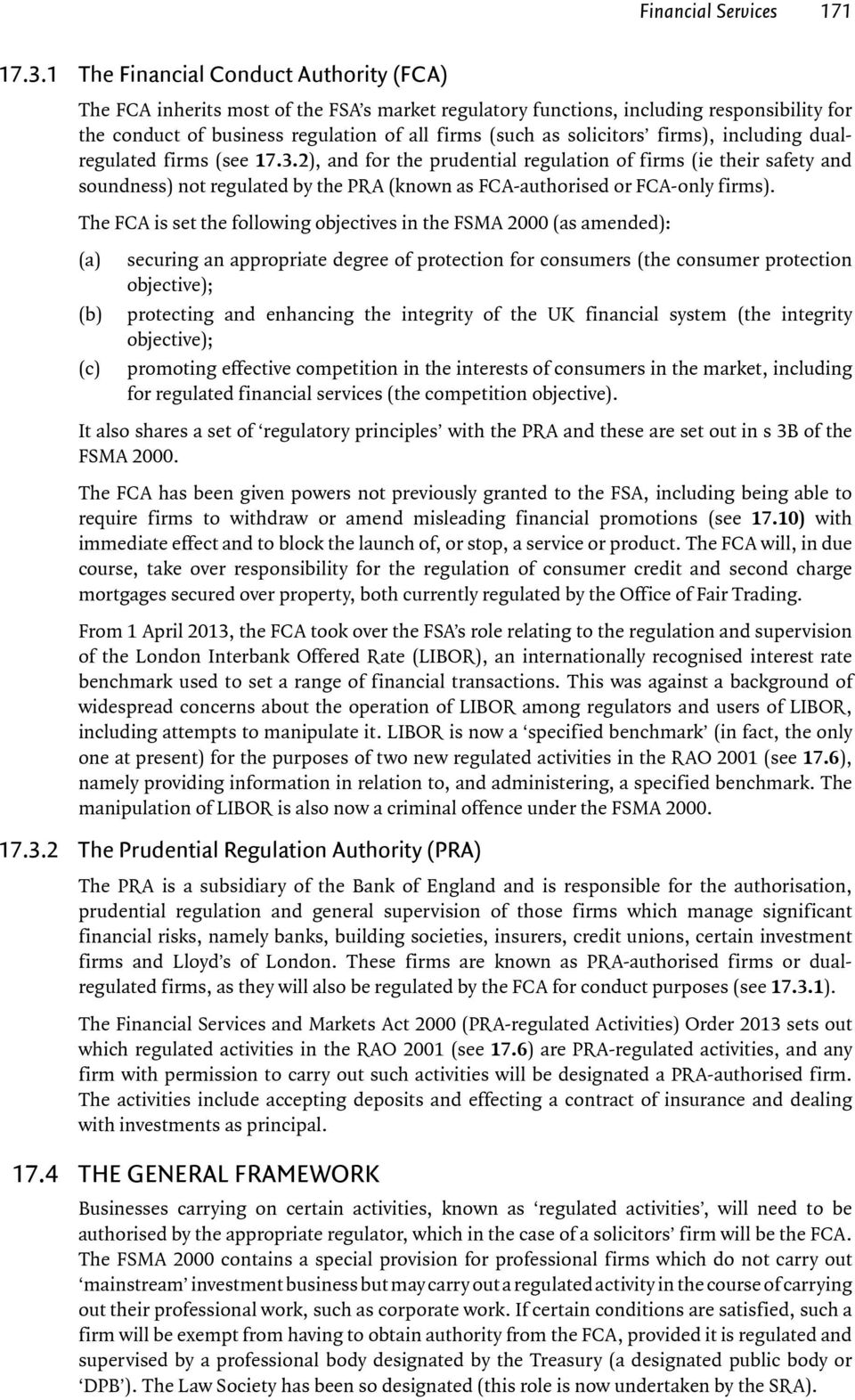 solicitors firms), including dualregulated firms (see 17.3.