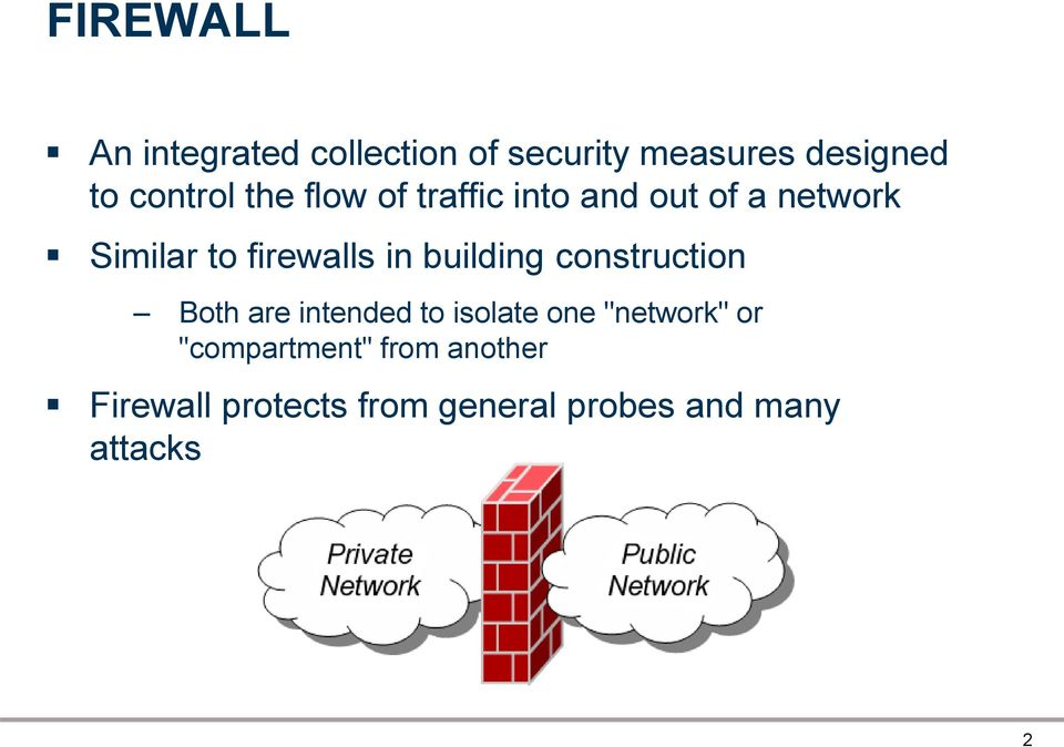 firewalls in building construction Both are intended to isolate one