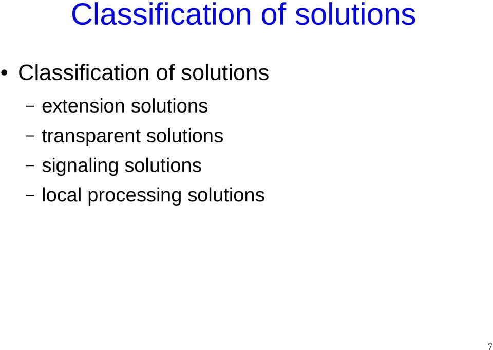 solutions signaling solutions local