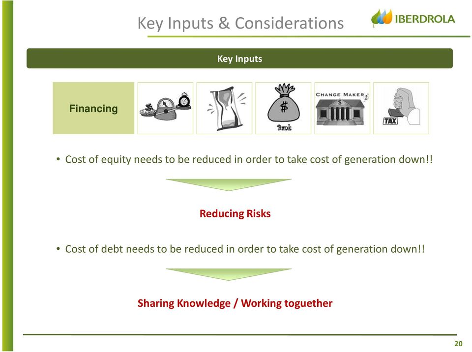 ! Reducing Risks Cost of debt !