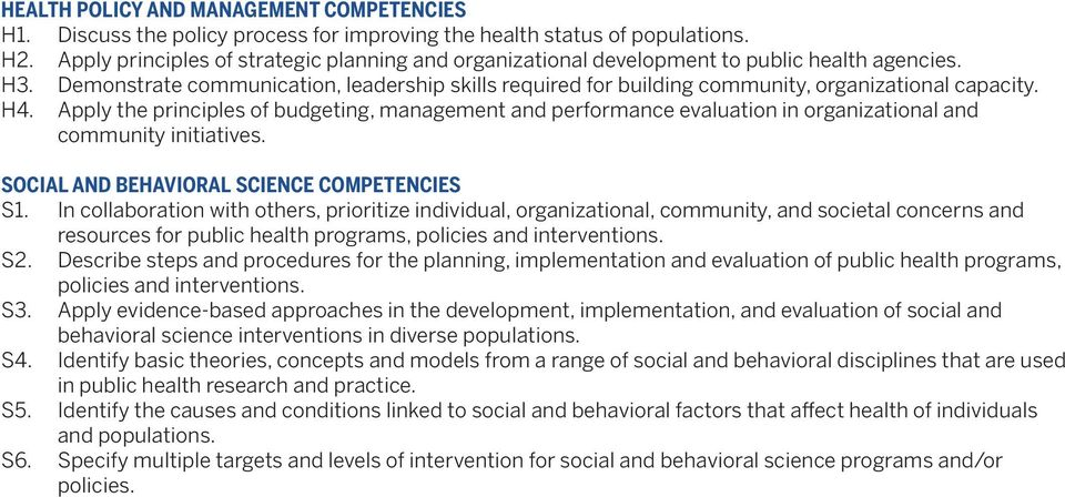 Demonstrate communication, leadership skills required for building community, organizational capacity. H4.