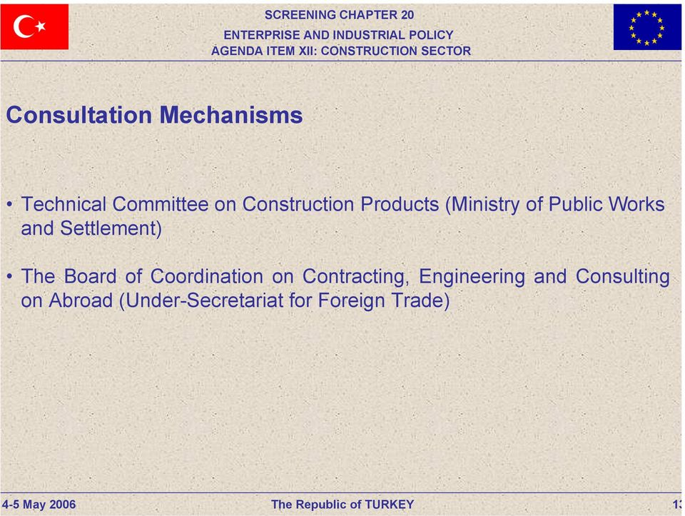 Settlement) The Board of Coordination on Contracting,