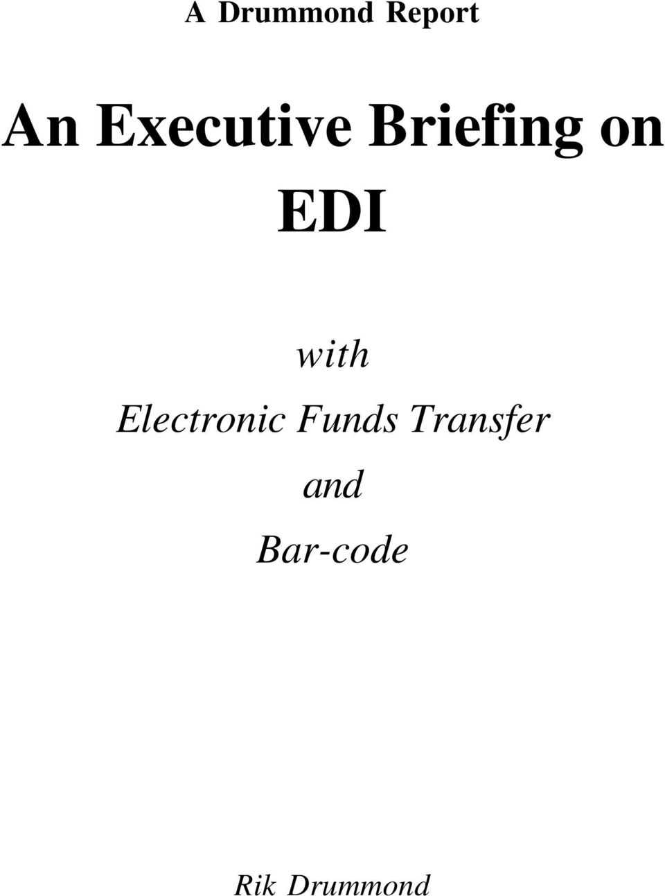 with Electronic Funds