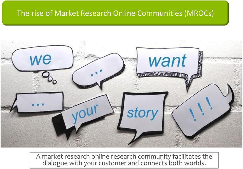 online research community facilitates the