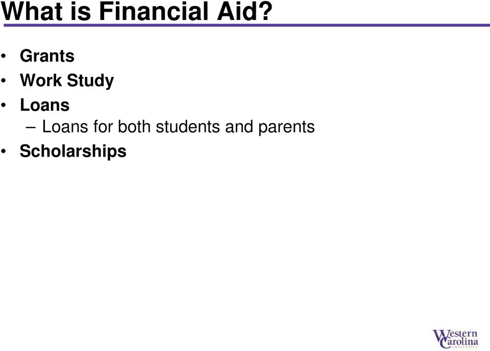 Loans for both students