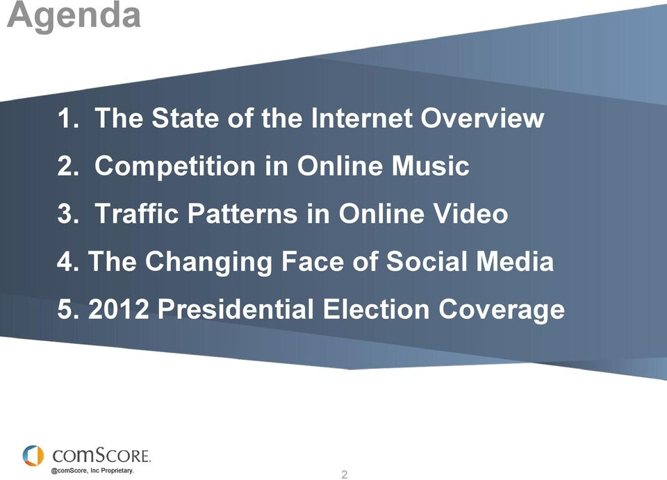 Traffic Patterns in Online Video 4.