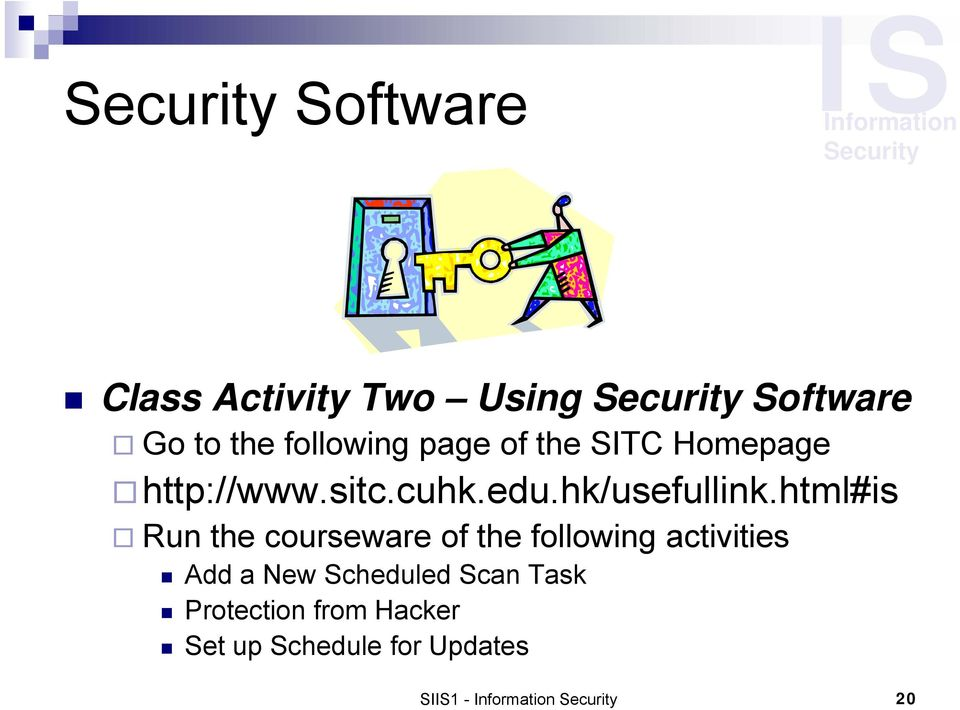 html#is Run the courseware of the following activities Add a New