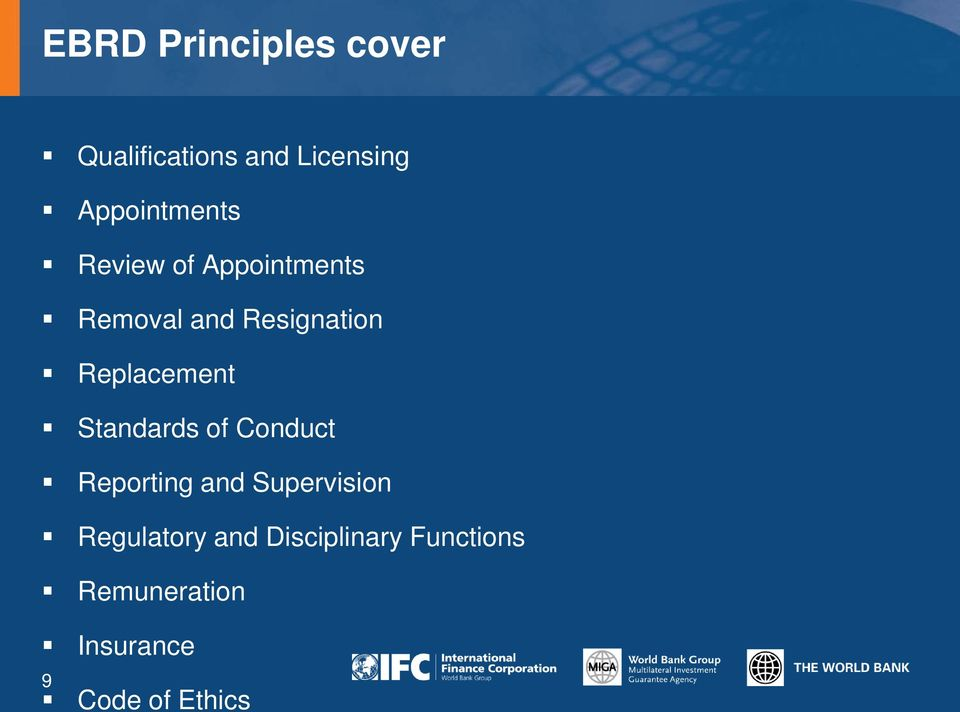 Replacement Standards of Conduct Reporting and Supervision