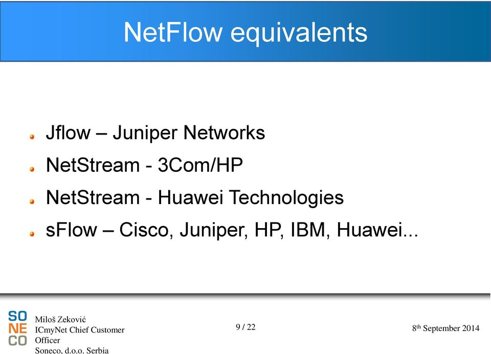 NetStream - Huawei Technologies