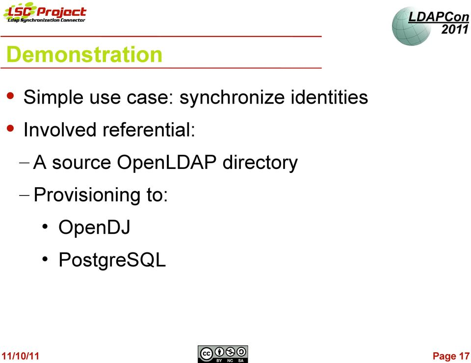 referential: A source OpenLDAP