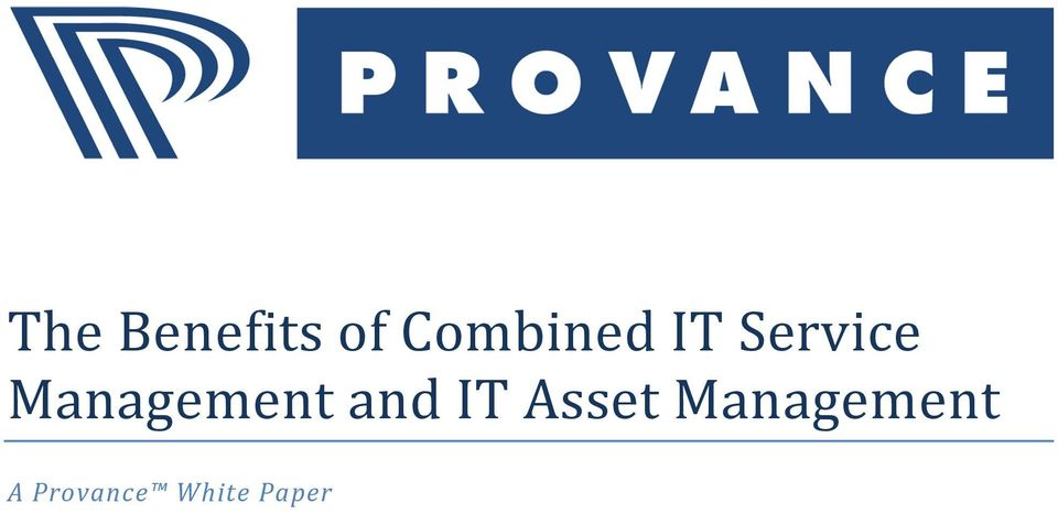Management and IT Asset