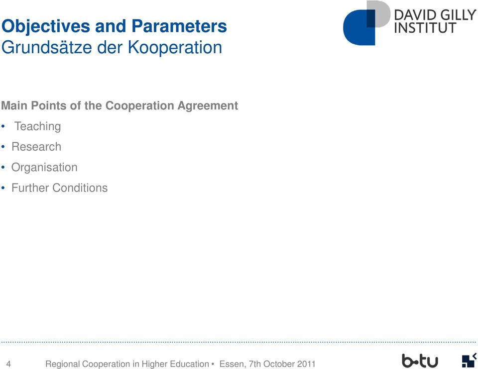 Cooperation Agreement Teaching