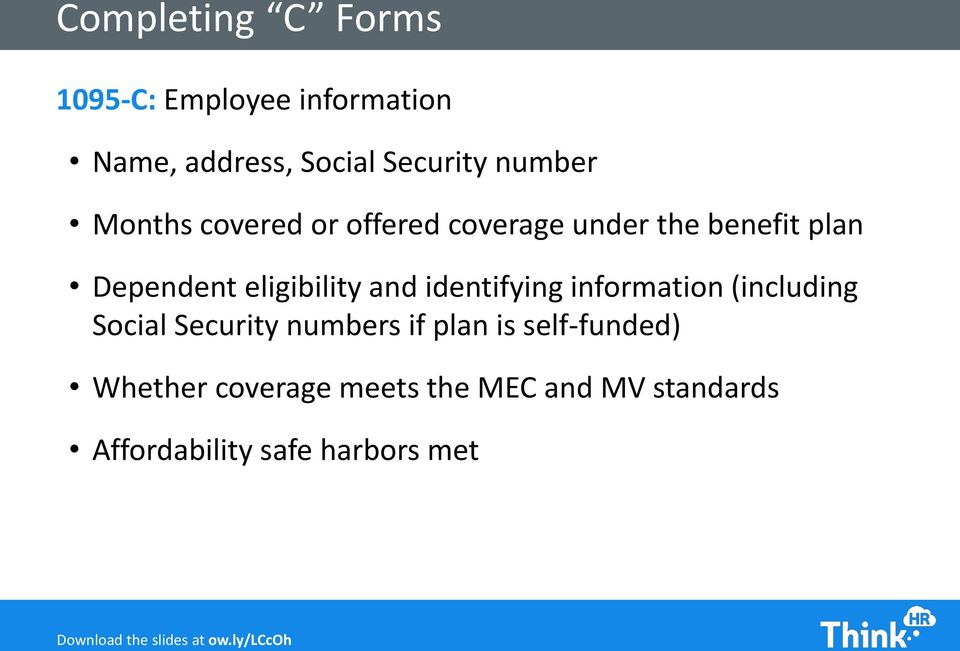 eligibility and identifying information (including Social Security numbers if plan