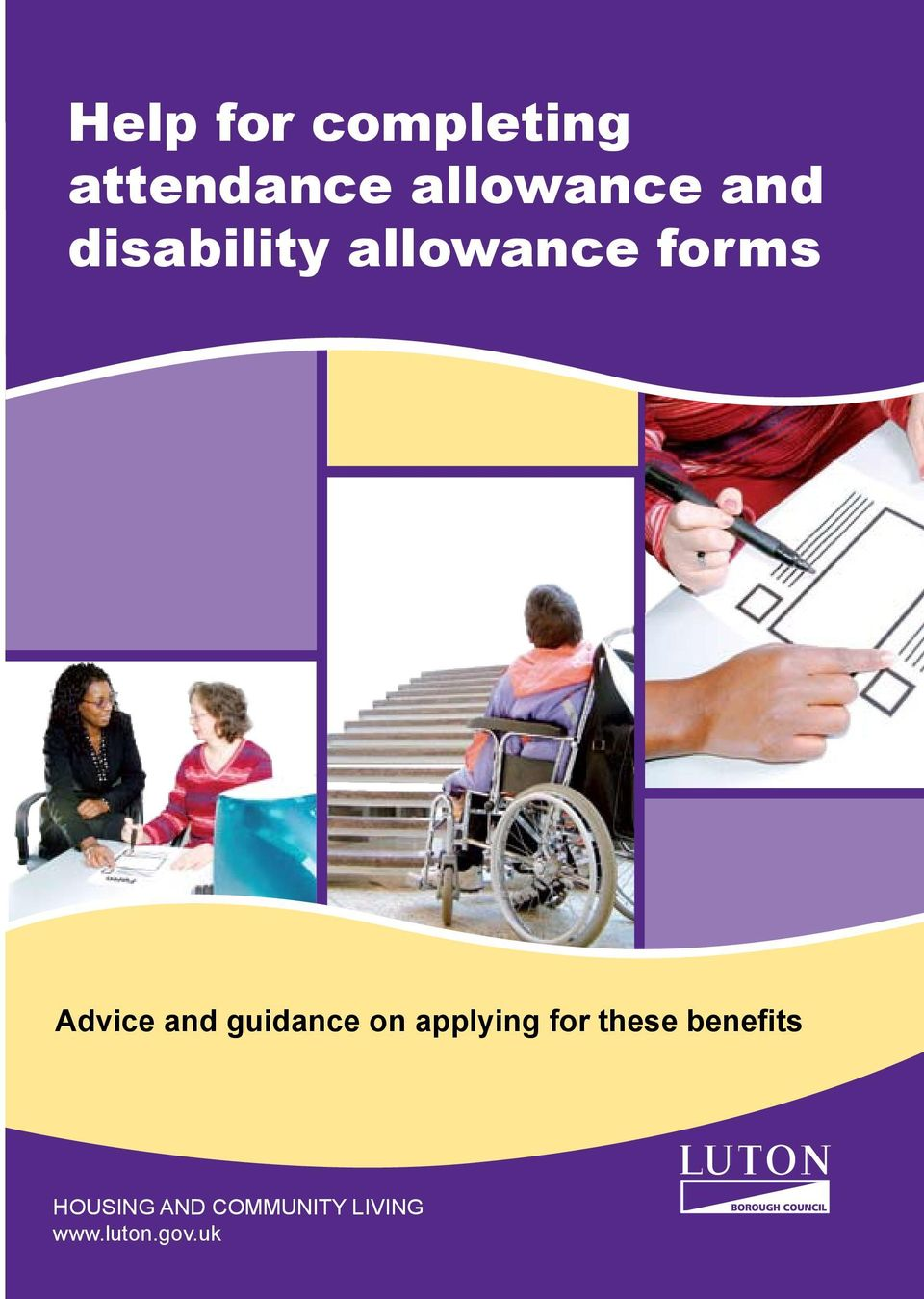 guidance on applying for these benefits