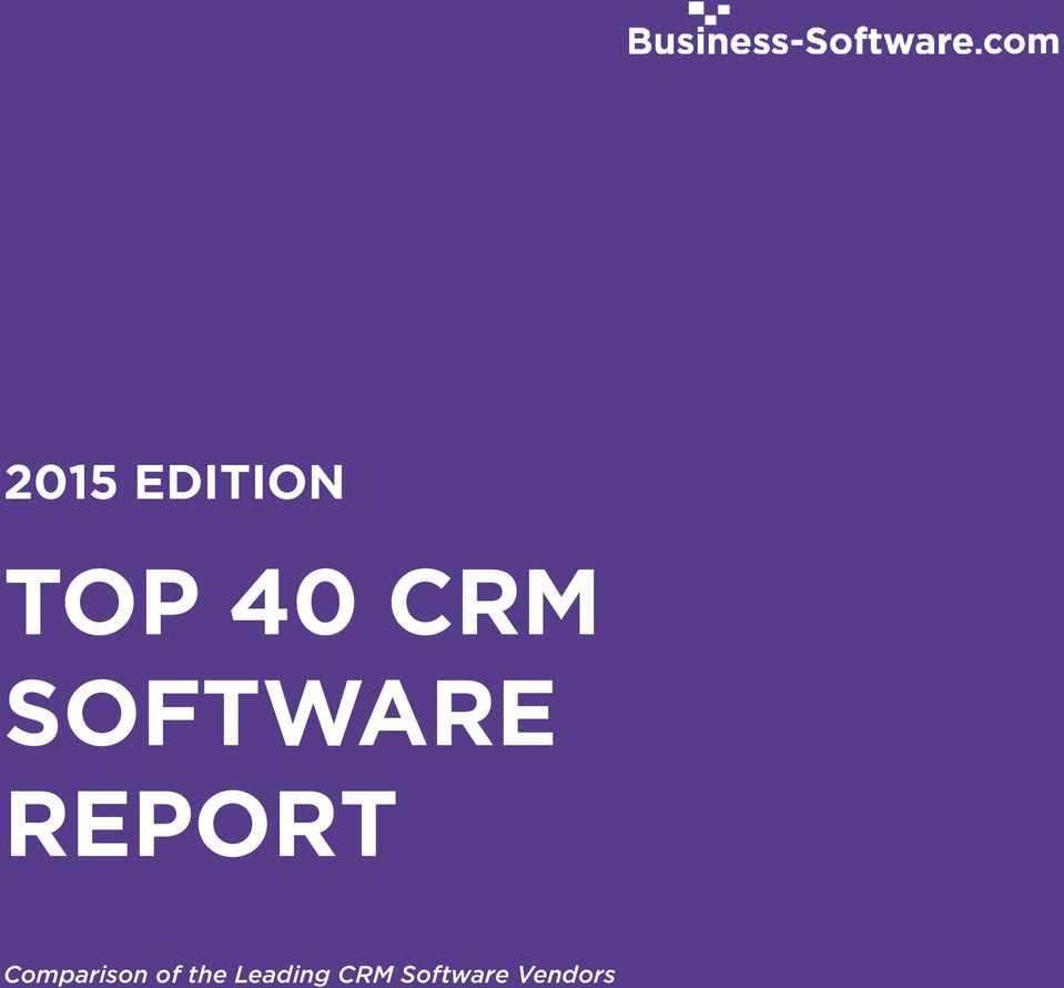 of the Leading CRM Software Vendors