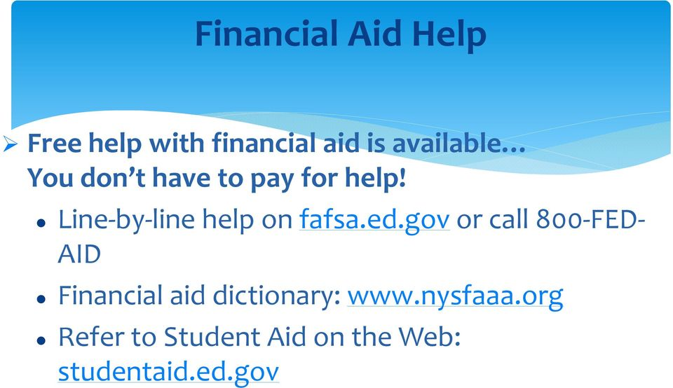 Line-by-line help on fafsa.ed.