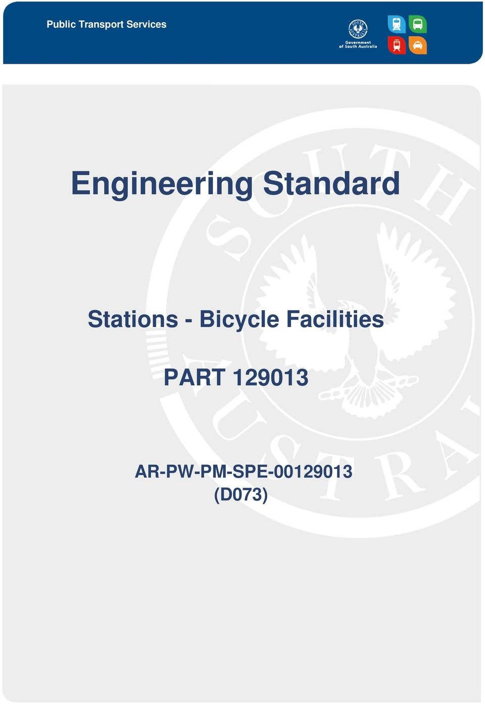 - Bicycle Facilities PART