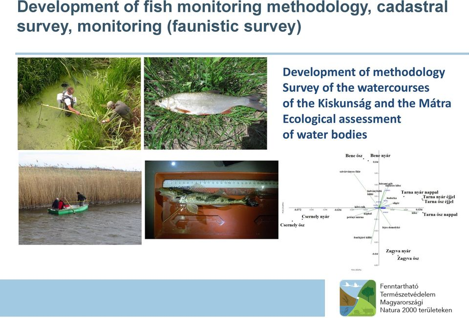 methodology Survey of the watercourses of the