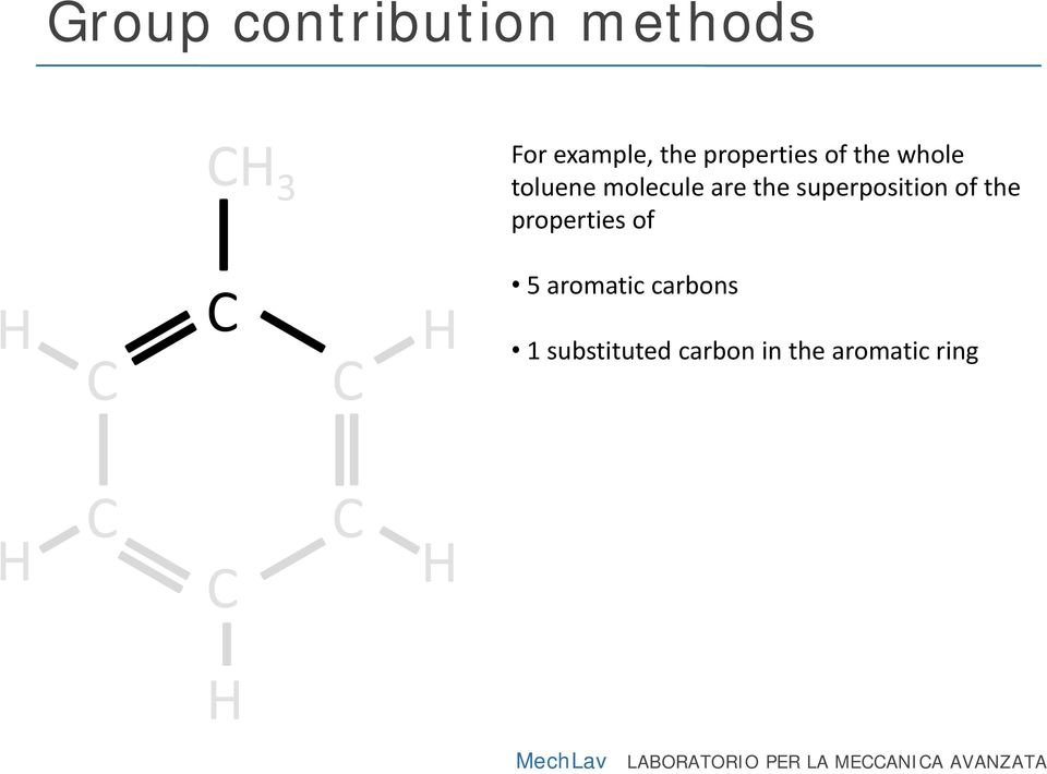 the properties of 5 aromatic carbons 1 substituted