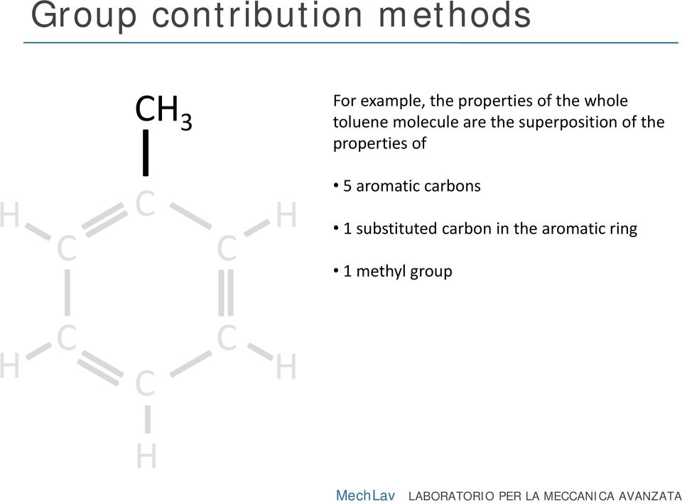 properties of 5 aromatic carbons 1 substituted carbon in