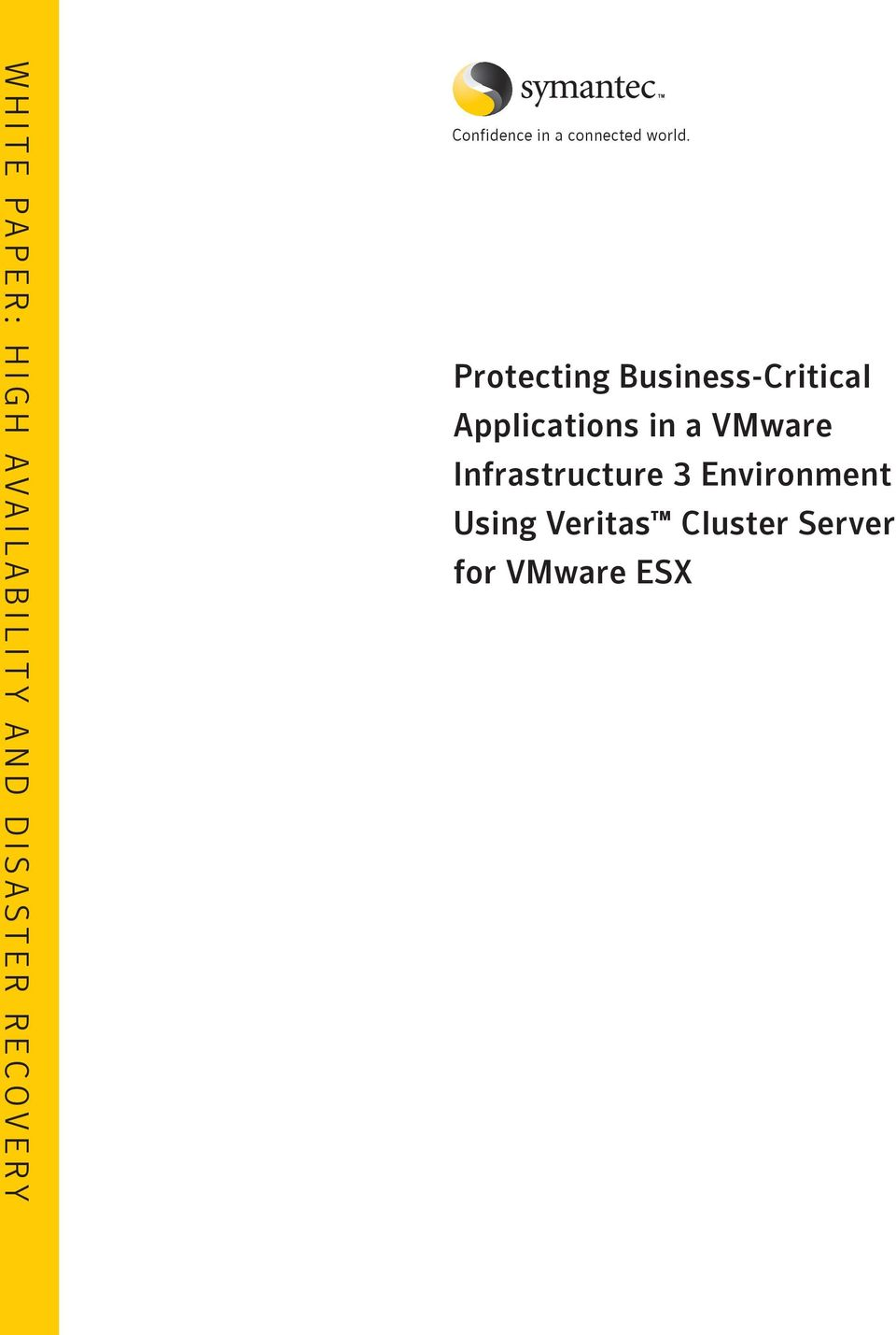 Protecting Business-Critical Applications in a VMware