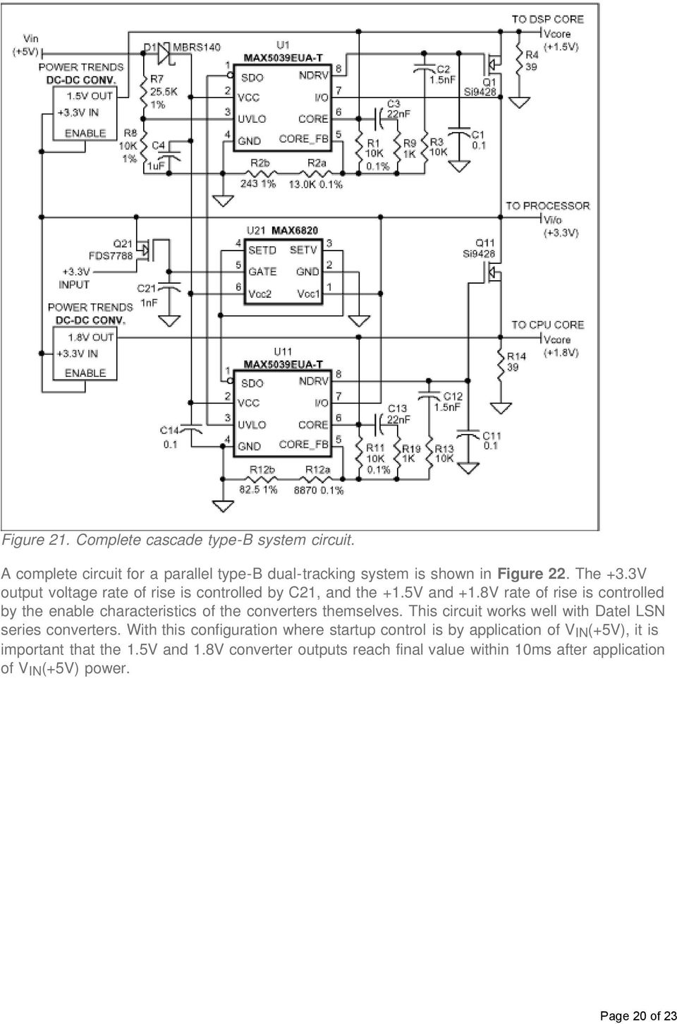 Voltage Tracking Requirements Pdf Circuit Of Lm339 Motorcontrol Controlcircuit Diagram 8v Rate Rise Is Controlled By The Enable Characteristics Converters Themselves