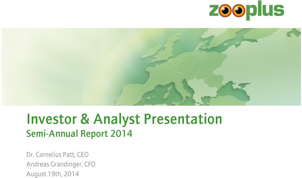 Report 2014 Dr.
