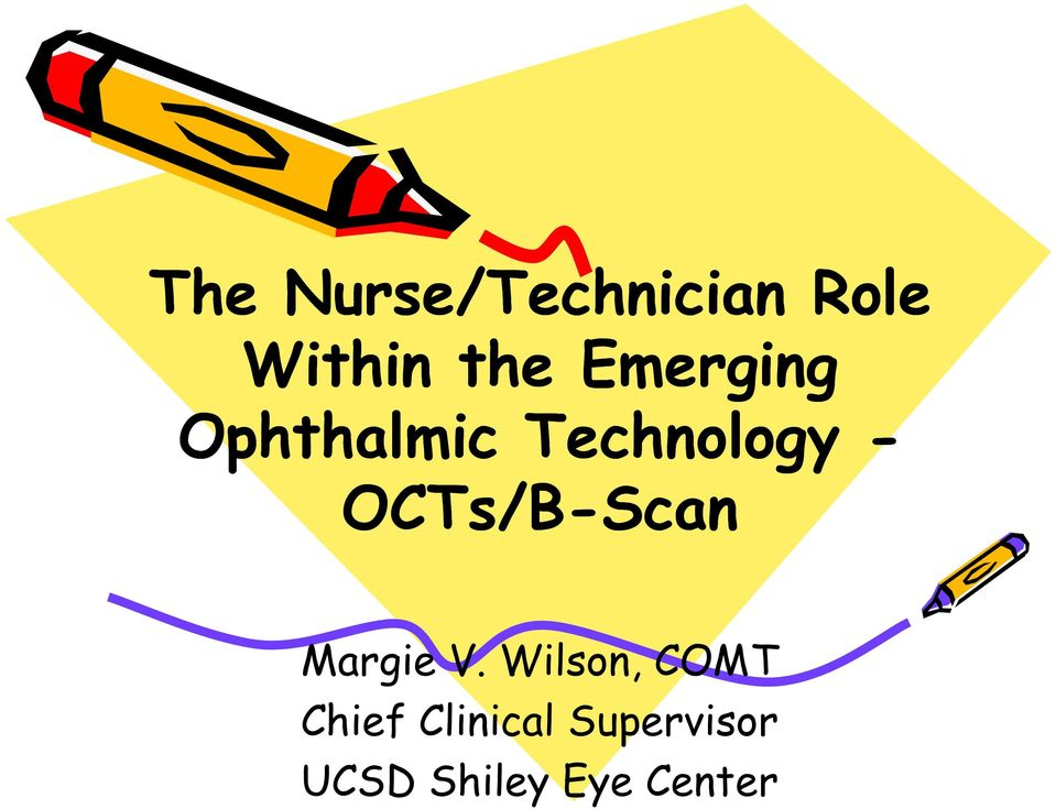 OCTs/B-Scan Margie V.
