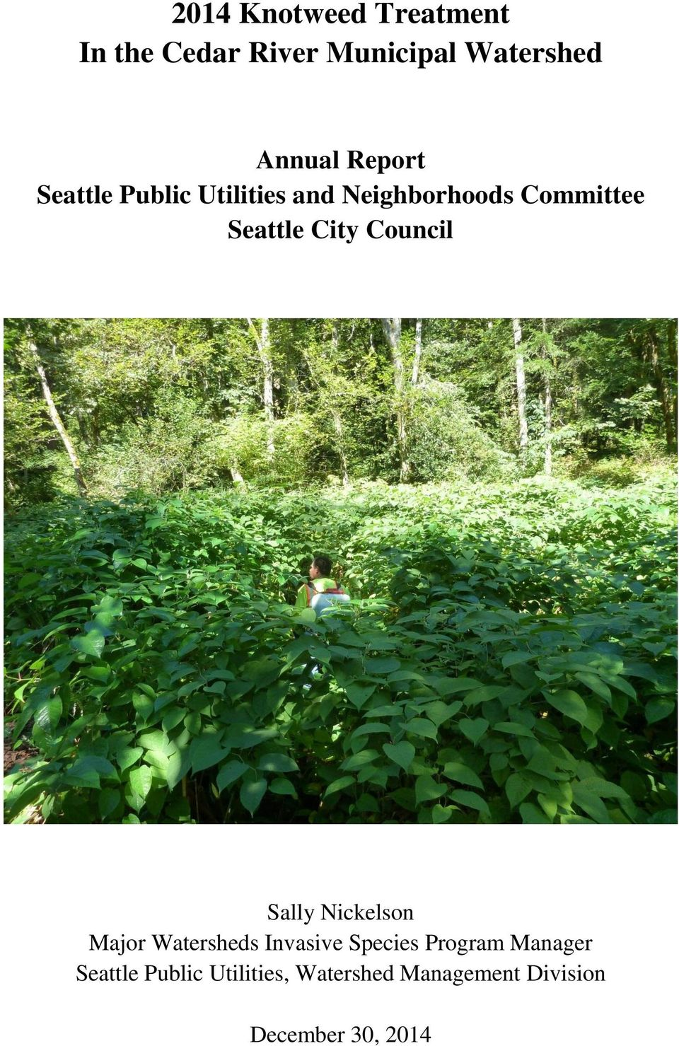 Council Sally Nickelson Major Watersheds Invasive Species Program