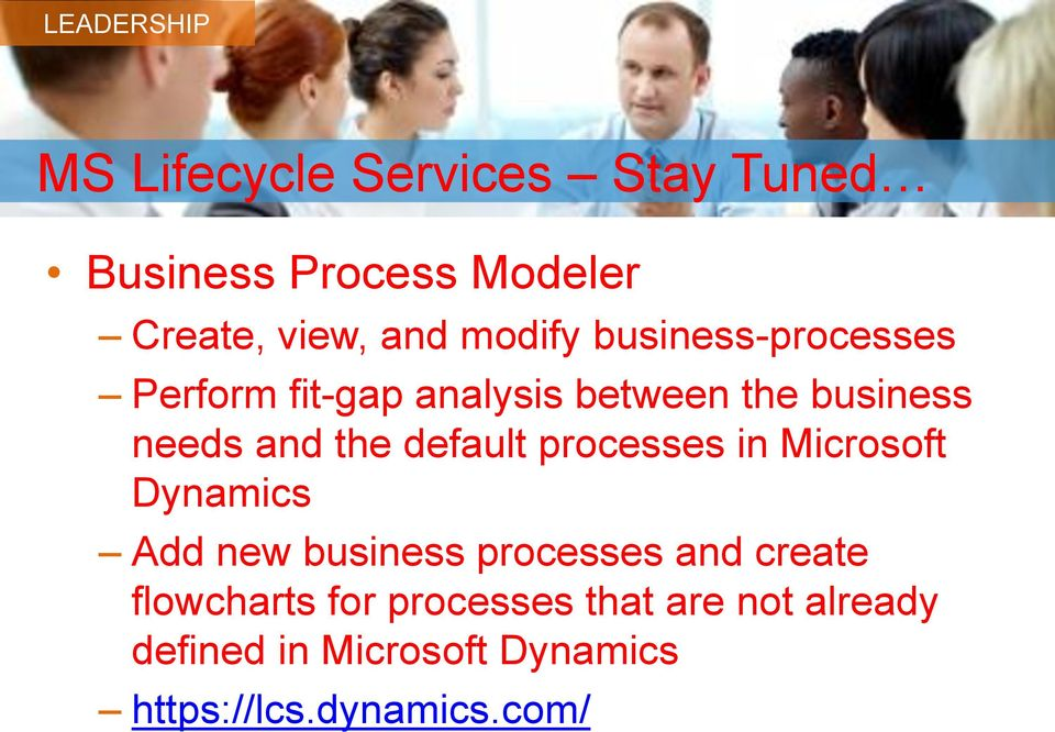 default processes in Microsoft Dynamics Add new business processes and create
