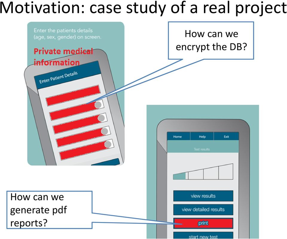 can we encrypt the DB?