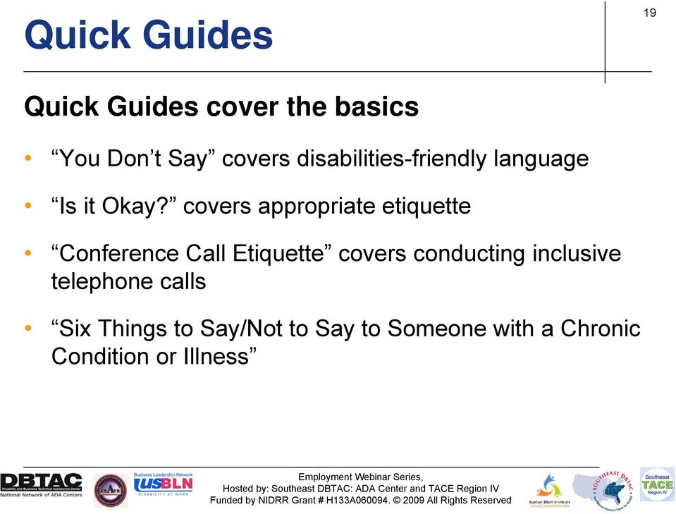 covers appropriate etiquette Conference Call Etiquette covers