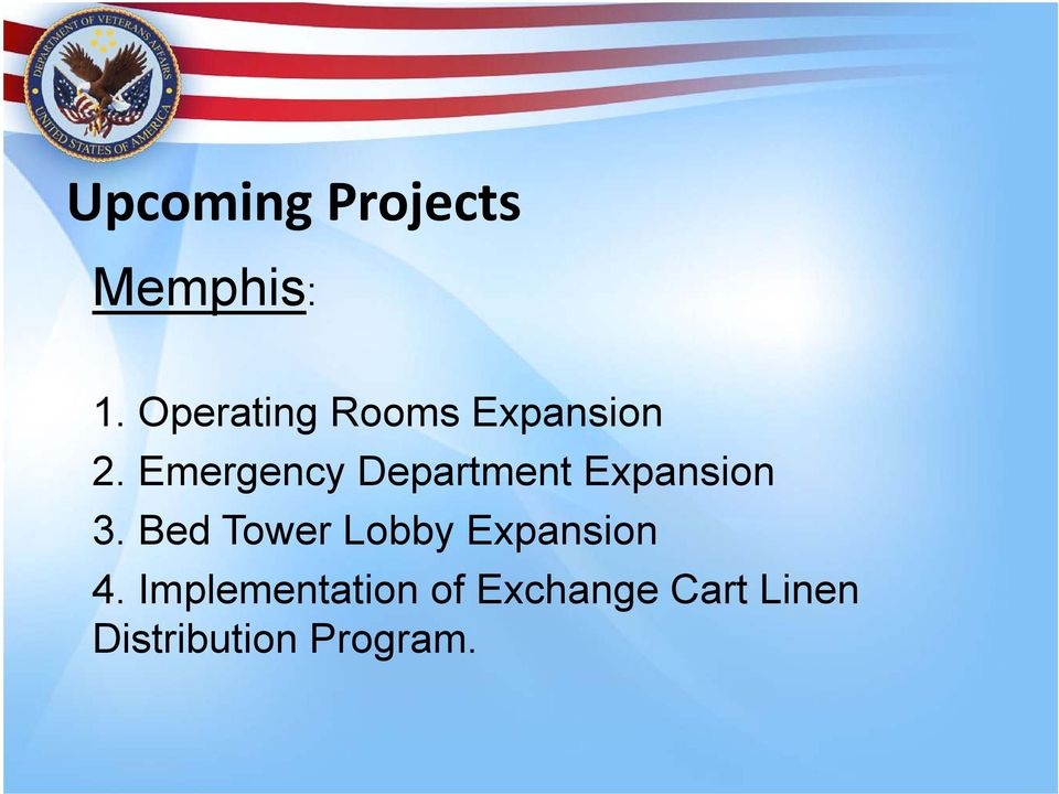 Emergency Department Expansion 3.